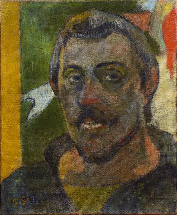 Paul Gauguin - 059 Autoportrait - Автопортрет - 1890/94 - 46x37 - acheté chez Vollard, 12 octobre 1908, 2000 f - cat. 1913, 18 - inv. Pouchkine J 3264