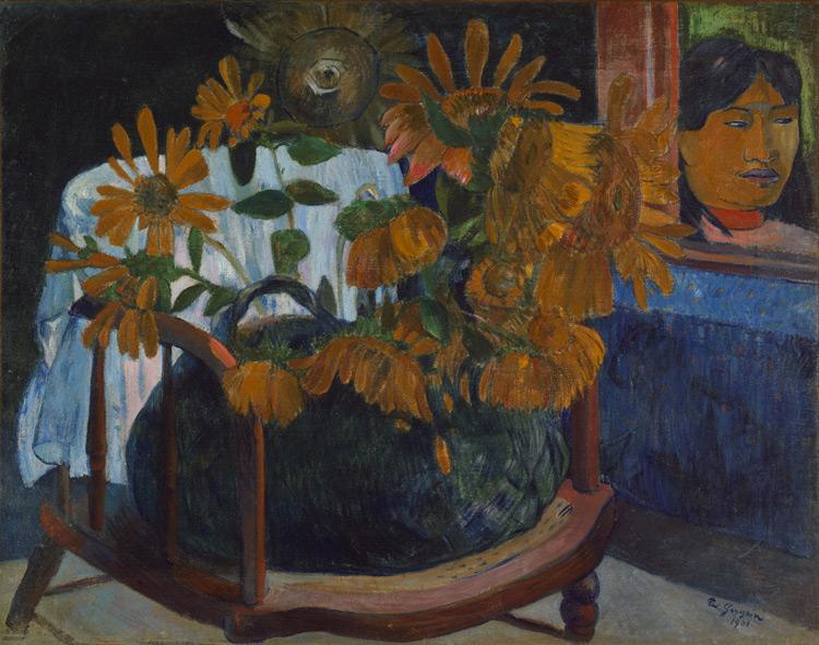 Paul Gauguin - 069 Tournesols - Подсолнечники - 1901 - 73x92,3 - Acheté chez Vollard, 27 avril 1906, 4000f - cat. 1913, 22 - inv. Ermitage 6516
