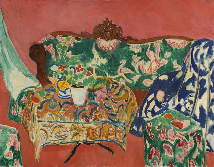 Henri Matisse - 128 Nature morte de Séville (Seville1) - Севильский натюрморт - 1910/11 - 90x117 - Acheté à l'atelier, janvier 1911, 5000 f - cat. 1913, 103 - inv. Ermitage 6570