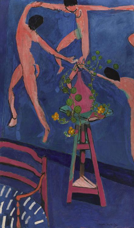 Henri Matisse - 137 Les capucines à la danse - Настурции. Панно «Танец» - 1912 - 193x114 - Acheté à l'atelier, juillet 1912 SC, 6000f - cat. 1913, 121 - inv. Pouchkine J 3301
