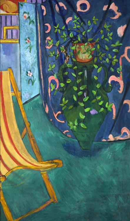 Henri Matisse - 138 Coin d'atelier - Уголок мастерской - 1912 - 192x115 - Acheté à l'atelier en juillet 1912, 6000f - cat. 1913, 123 - inv. Pouchkine J 3302