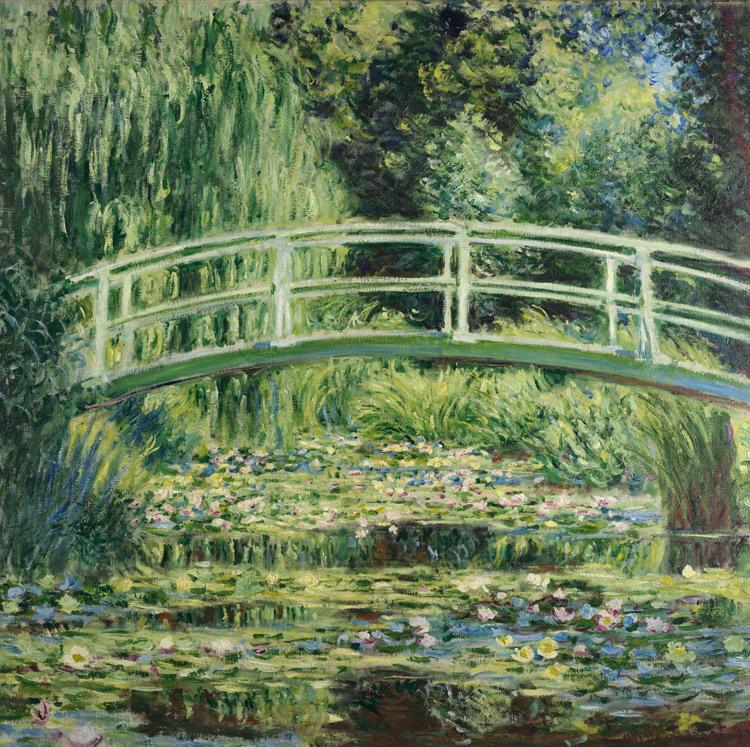 Claude Monet - 156 Les nymphéas blancs - Белые кувшинки - 1899 - 89x93 - Acheté à l'atelier de Giverny, décembre 1900, 10 000f - cat.1913, 135 - inv. Pouchkine J 3309