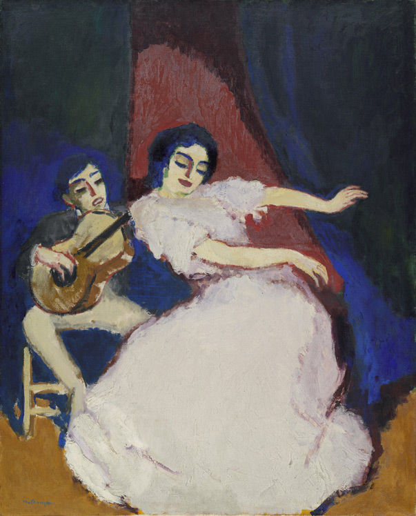 Kees Van Dongen - 243 Antonia la Coquinera - Антония ла Кокинера - 1906/7 - 100x81 - Acquisition ? Kahnweiler 1910? - cat.1913, 57 - inv. Ermitage 8994