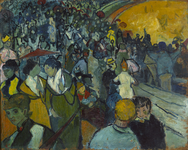 Vincent Van Gogh - 246 Les arènes d'Arles - Арена в Арле - 1888 - 74,5x94 - Acquisition? Vollard, 1904? - cat.1913, 34 - inv. Ermitage 6529