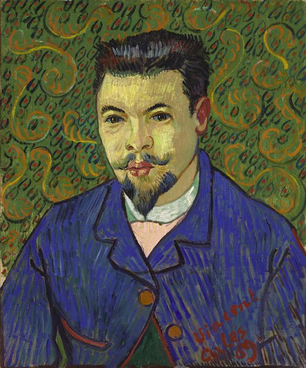 Vincent Van Gogh - 249 Le docteur Rey - Van Gogh - 1889 - 64,5x53,4 - Druet, octobre 1908 SC, 4600 f - cat.1913, 33 - inv. Pouchkine J 3272