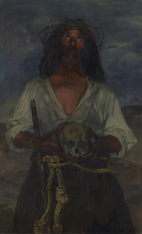 Ignacio Zuloaga - 257 L'ermite - Отшельник - 1902/4 - 123,5x78,7 - Reçu à la mort de son frère Ivan en 1908 - cat.1913, 60 - inv. Ermitage 6566