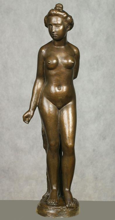 Aristide Maillol, 1861-1944 - Femme nue - Венера (Обнаженная женская фигура) - bronze - 1900 - 67cm - Acheté le 12 octobre 1909 - Ne figure pas au catalogue 1913 - inv. Pouchkine Ck 282